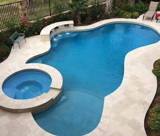 Ceramic and Porcelain Tile Finishes  Inground Pool Contractor in Bath, OH